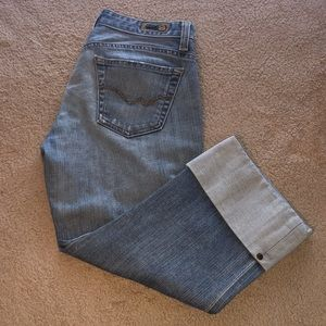 Ag Adriano Goldschmied the Shorty Jeans 28R